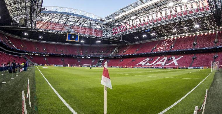 Ajax krijgt teleurstellend nieuws uit Londen: slechts 833 fans naar Engeland