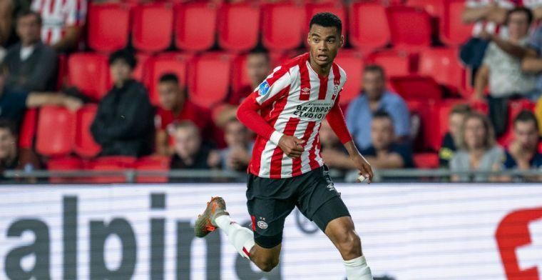 PSV verlengt contract van aanvaller: 'Voel me hier fijn in mijn eigen stad'