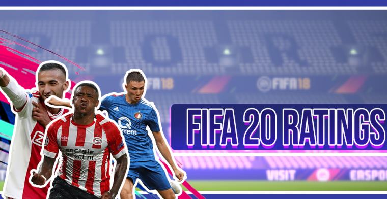 Ratings FIFA 20: Ajax heerst, PSV goede tweede, Feyenoord haakt af