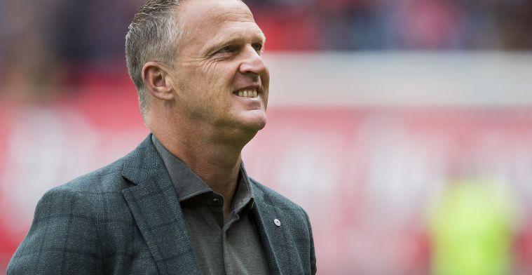 Van den Brom: 'Wat heeft het dan voor zin om met Jong Utrecht te spelen?'