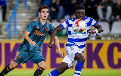 Afbeelding: De Graafschap wint spektakelstuk van Jong Ajax; knotsgek duel op De Herdgang