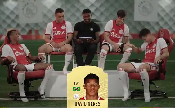 Ajax-spelers liggen dubbel om FIFA-rating Neres: 'I'm better than this!'