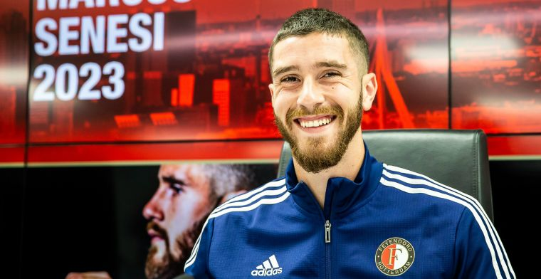 Senesi krijgt nog geen basisplaats bij Feyenoord; Stam beslist later over tweetal