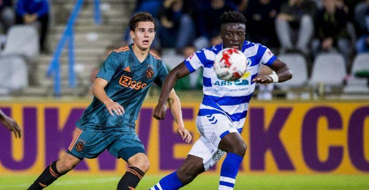 De Graafschap wint spektakelstuk van Jong Ajax; knotsgek duel op De Herdgang