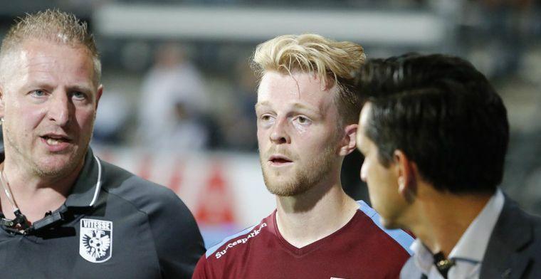 'Opluchting in Arnhem: Vitesse heeft vier verdedigers ter beschikking voor topper'