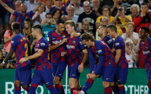 Afbeelding: Barcelona maakt gehakt van Valencia: hoofdrollen voor De Jong én Cillessen