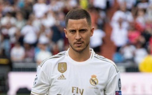 Afbeelding: OPSTELLING: Hazard in de selectie, maar niet in de basis bij Real Madrid-Levante