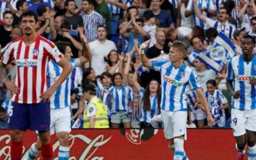 Afbeelding: Odegaard bezorgt Atlético eerste nederlaag, Mertens fleurt basisdebuut Lozano op