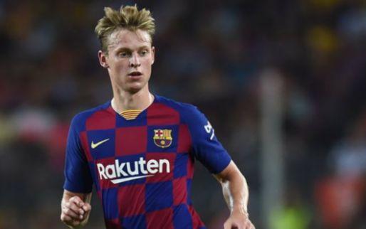 Afbeelding: Verrassende opstelling Barcelona: nog geen Suárez, wel De Jong én Fati