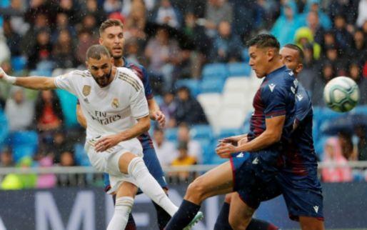 Afbeelding: Krappe overwinning voor Real Madrid na ruime voorsprong bij rust bij debuut Hazard
