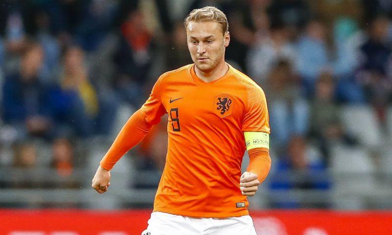 Afbeelding: Jong Oranje-speler bonkt op deur Nederlands elftal: 'Heel volwassen, heel stabiel'