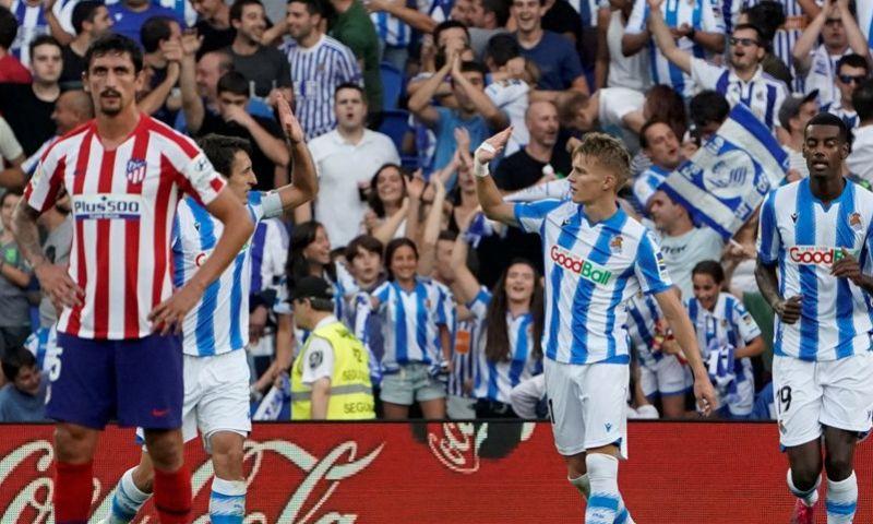Afbeelding: Odegaard bezorgt Atlético eerste nederlaag, Mertens matchwinnaar bij Napoli