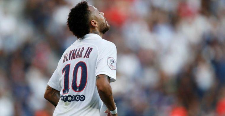 Uitgefloten Neymar krijgt PSG-fans alsnog stil met wondergoal in extremis