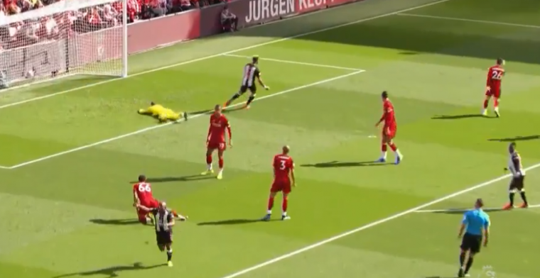 Verrassing: Newcastle op voorsprong bij Liverpool na fantastische pegel
