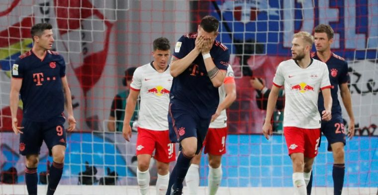 Bayern vergeet door te drukken en ziet Leipzig punt uit het vuur slepen