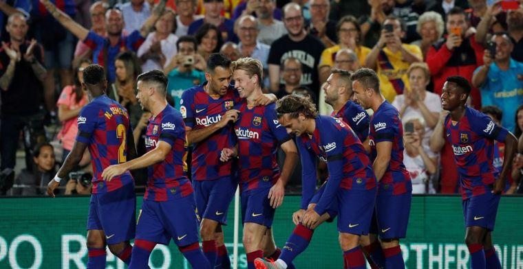 Barcelona maakt gehakt van Valencia: hoofdrollen voor De Jong én Cillessen