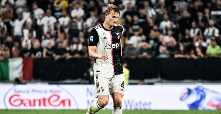 Sarri geeft vertrouwen aan De Ligt: Nederlander opnieuw in de basis bij Juventus
