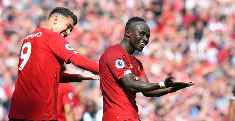 Supertrio leidt Liverpool langs Newcastle na wondergoal van Willems
