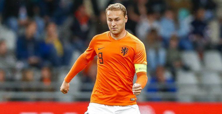 Jong Oranje-speler bonkt op deur Nederlands elftal: 'Heel volwassen, heel stabiel'