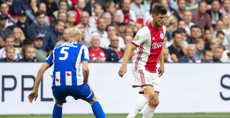 Heerenveen-treffer afgekeurd tegen Ajax: 'Discutabel moment in de wedstrijd'