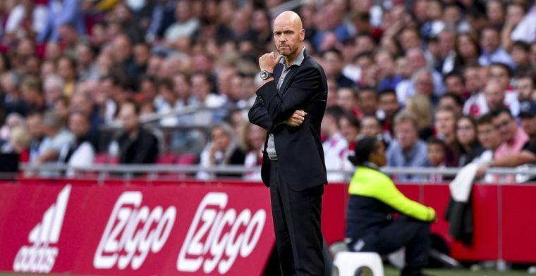 Ten Hag streept Ajax-duo weg: 'Zoals ik het nu zie, gaan ze het niet halen'
