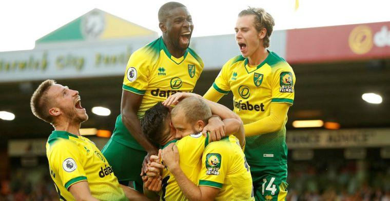 Norwich en Krul shockeren Engeland met sensationele zege op Manchester City