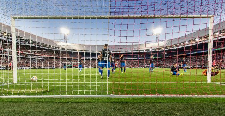 'Plannen voor dwarsbomen 'Feyenoord City': vijftien miljoen euro geboden'