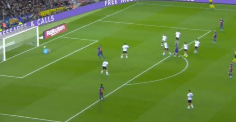 GOAL: Barça neemt afstand van Valencia na pijnlijke ketser Cillessen