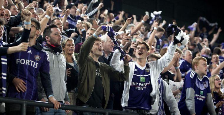 Ik vond de supporters van Anderlecht echt fantastisch