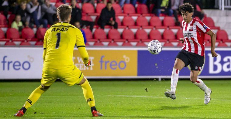 Amerikaanse Jong PSV-held: 'De fysio liet het aan mij over, ik wilde graag spelen'