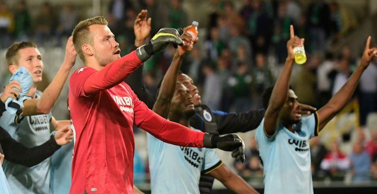 Mignolet weer belangrijk bij Club Brugge: Het is leuk om die ballen te stoppen