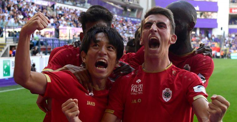 Antwerp wint op het veld van Anderlecht dankzij nieuwkomer Miyoshi