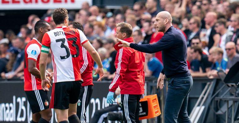 Stam ziet 'bij vlagen heel goed Feyenoord': 'Maar op het einde billenknijpen'