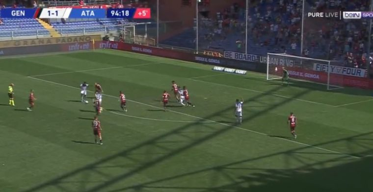 GOAL: Castagne en Malinovskyi zien Zapata match beslissen met kanonskogel