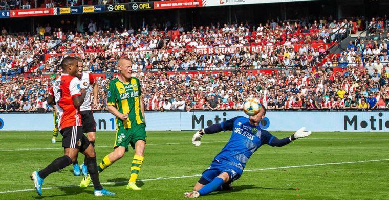 Feyenoord houdt ternauwernood stand tegen ADO na curieuze eigen doelpunten