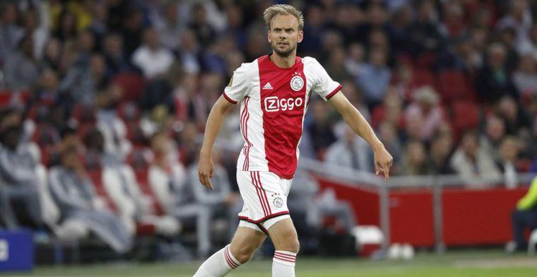 De Jong na lange tijd terug in Ajax-shirt: 'Ik hoop dat ik van waarde kan zijn'