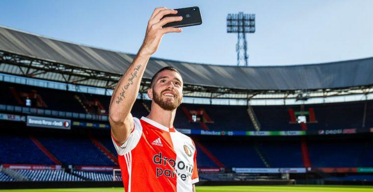 Bruggink over Feyenoord-aanwinst: 'Eén keer meegetraind, geef die jongen tijd'