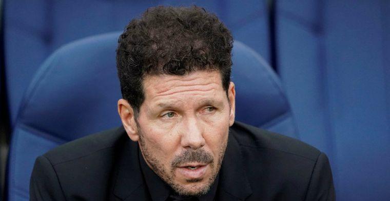 'FIFA oordeelt in het voordeel van Atlético: Simeone mag zoon (17) begroeten'