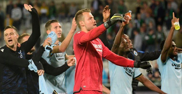 Club Brugge kan statement niet laten na derbyzege: 'Brugge is Blauw-Zwart'