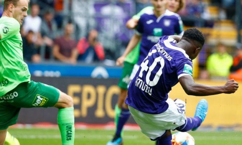Afbeelding: U21 haalt uit: Amuzu en Doku loodsen Anderlecht voorbij OHL
