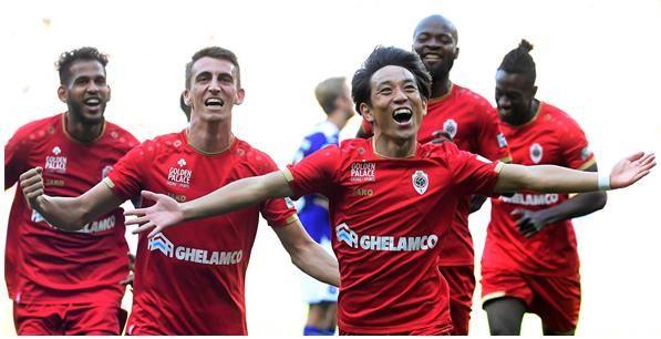 Miyoshi bezorgt Antwerp de volle buit in Anderlecht: Nog maar een begin
