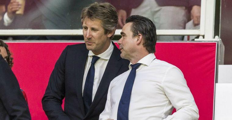 Overmars met 'zeven agenten' op Ajax-kantoor Van der Sar: Dat gaat geld kosten