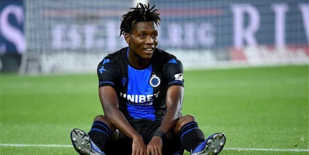 Okereke moet oppassen bij Club Brugge: Kan hij zich niet vaak permitteren