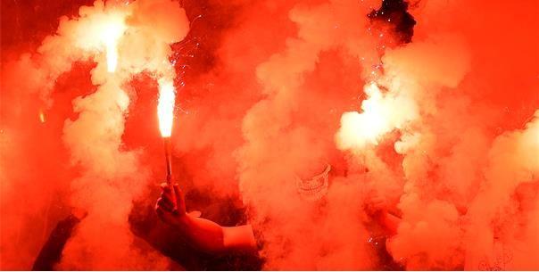 Club Brugge-fans nemen revanche op Cercle-sfeergroep: 'Jullie mogen opdoeken!'