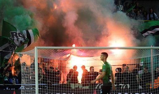 Afbeelding: Politie vraagt hulp van fans na rellen door Brugse derby