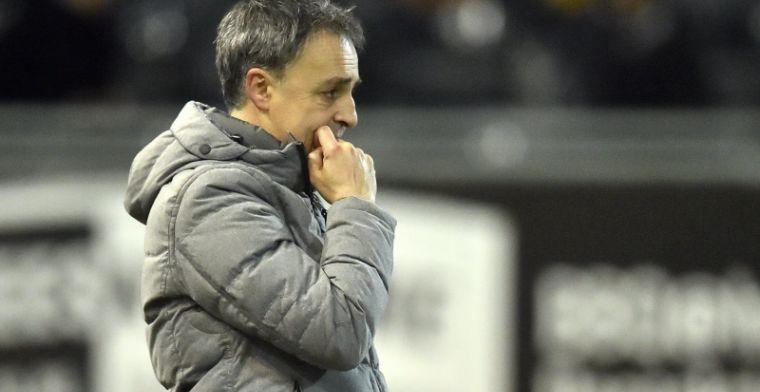 'Crasson mag toch blijven en neemt als interim tijdelijk over van Ferrera'