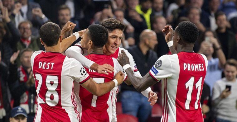 Overtuigende start voor flitsend Ajax: Lille op ruime nederlaag getrakteerd