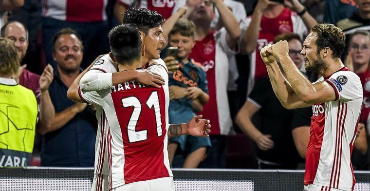 Álvarez: 'Heel leuk om met hem te voetballen bij Ajax, we begrijpen elkaar'