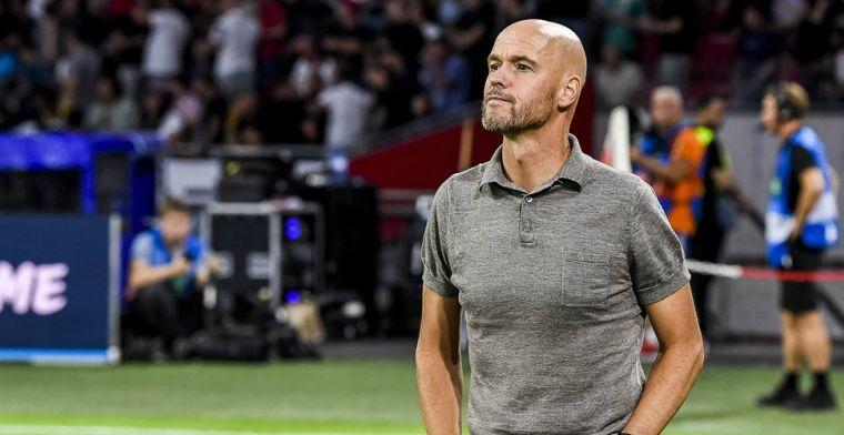 Ten Hag reageert fel op optimisme rond Ajax: Waar hebben we het over, man