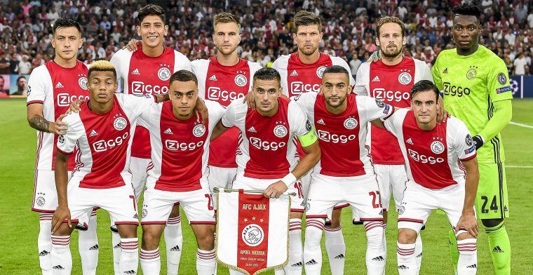 Ajax pakt groot uit in kranten in VS, Brazilië en Argentinië
